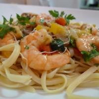 ShrimpScampiwithLinguine