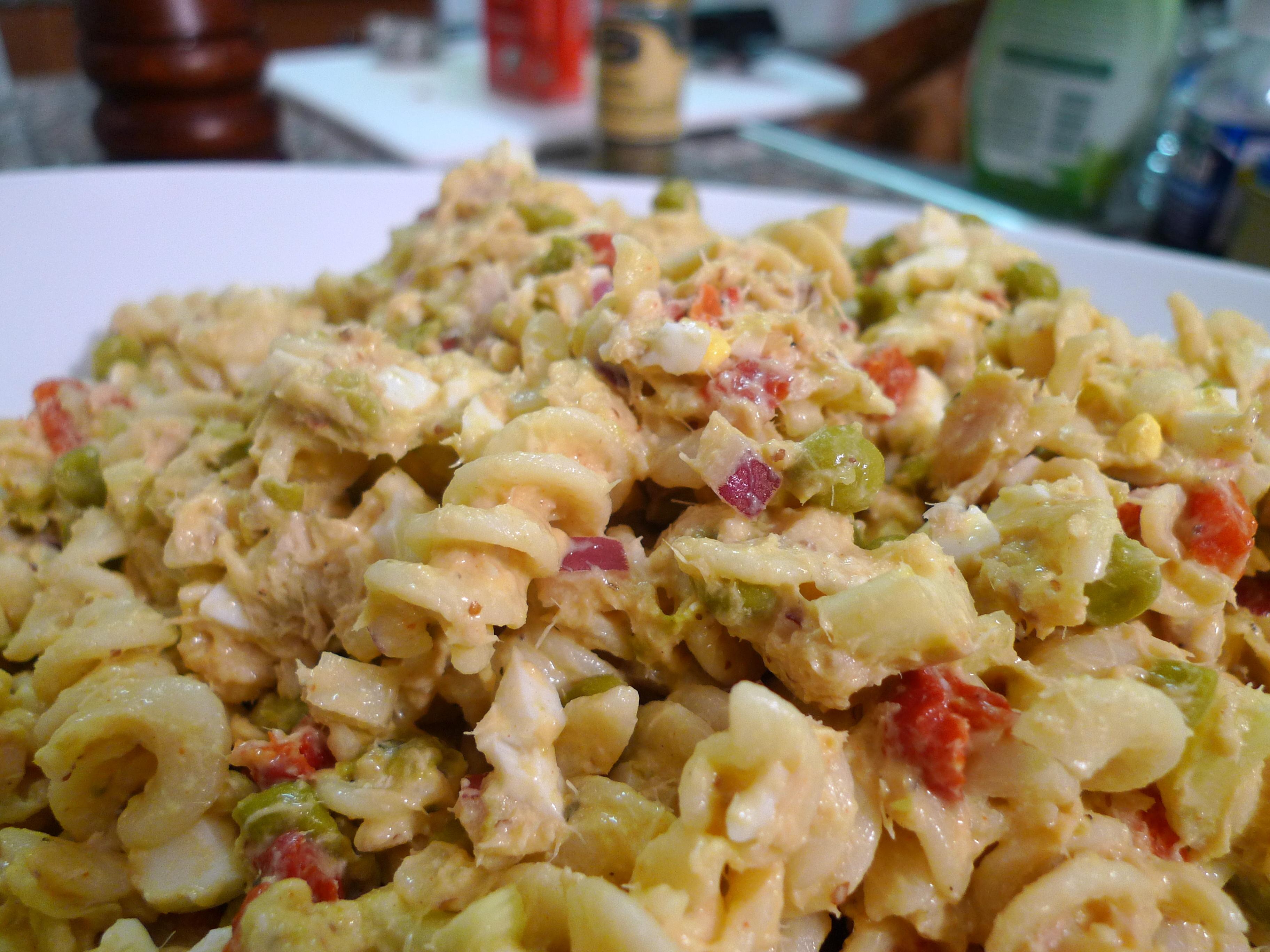 Tuna Pasta Salad | food comas