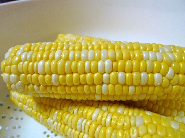 boiled corn husk free