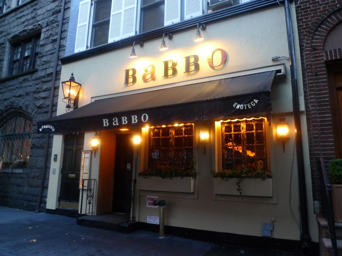 Babbo Italian Restaurant Ny