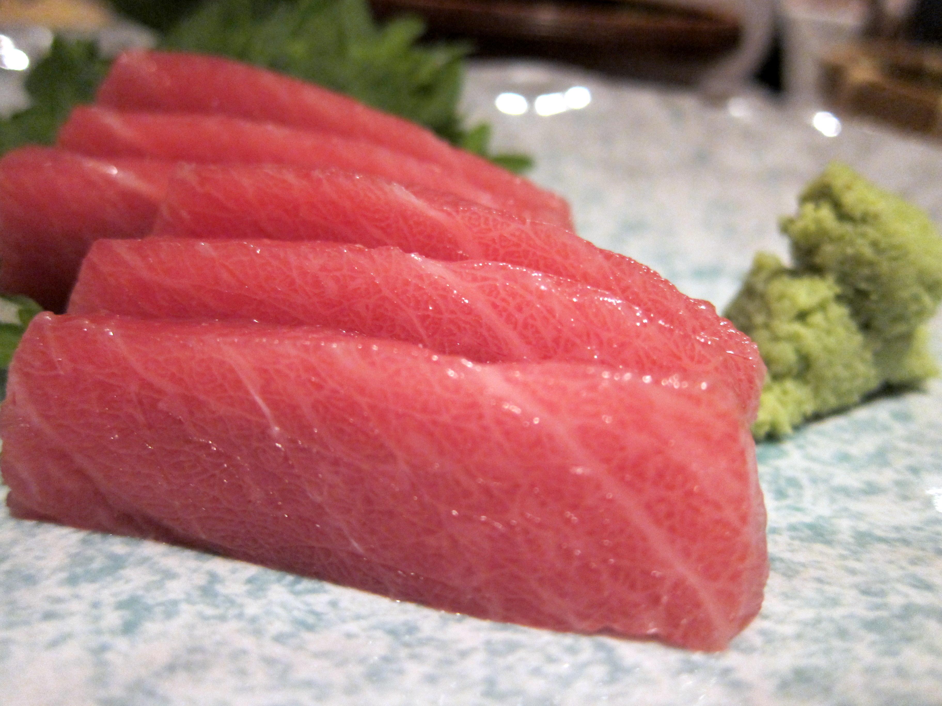 Ushiwakamaru nyc food comas for Where to buy sushi grade fish nyc