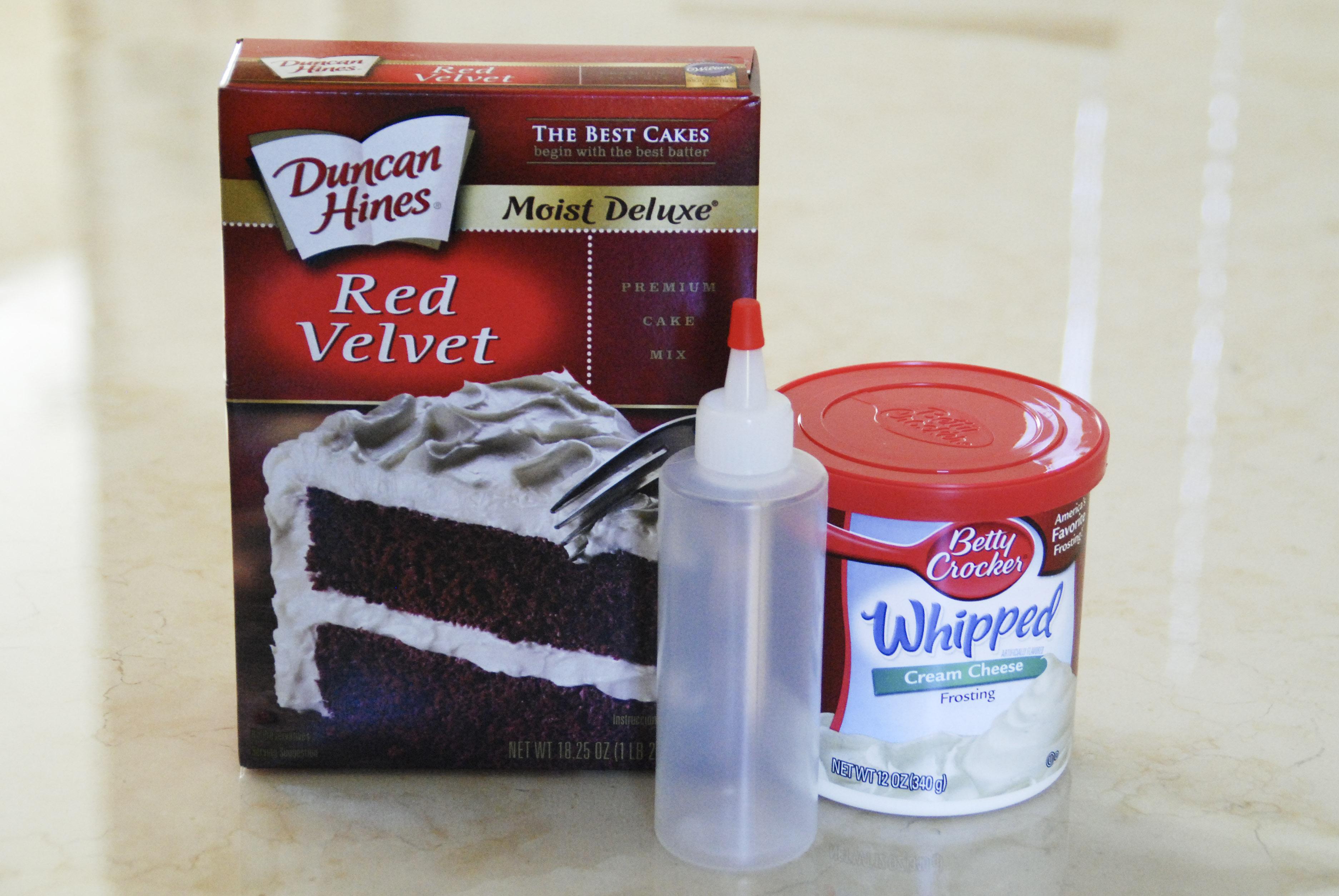 Red cake balls recipe