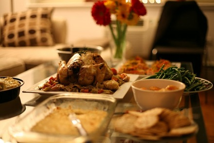 mains and sides spread