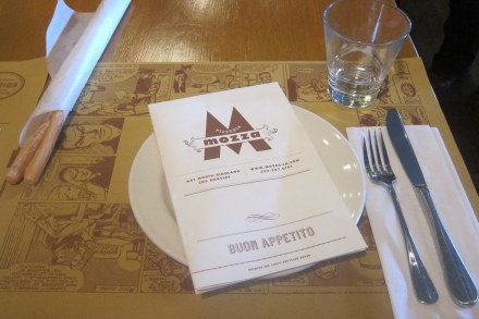 Mozza place setting
