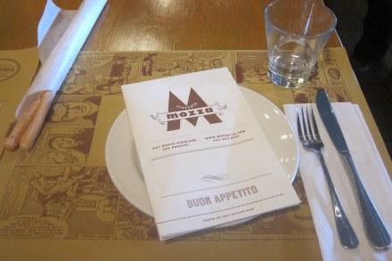 Mozza place setting