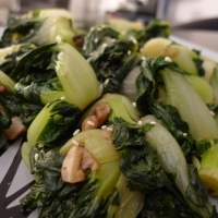 Braised Baby Bok Choy