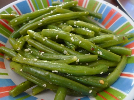 Green Bean Sesame Salad