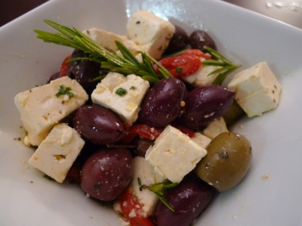 Marinated Feta with Olives