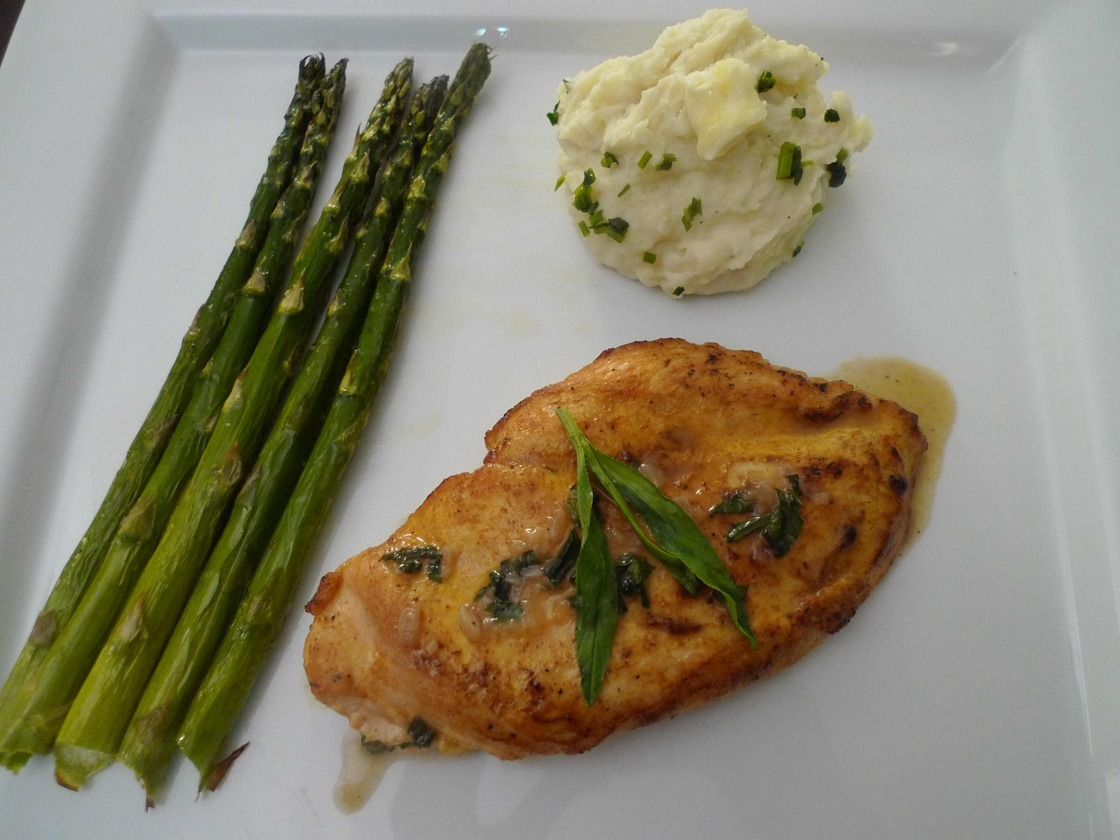 Sautéed Chicken Breasts with Tarragon (from Ad Hoc at Home)