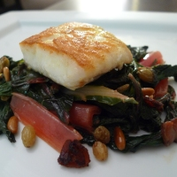 Pan-Roasted Halibut