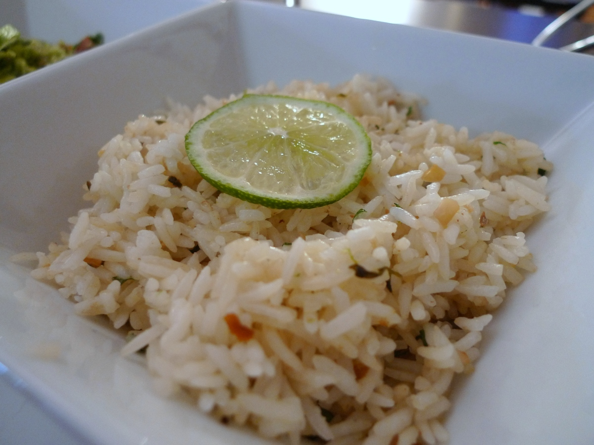 Tequila Lime Rice