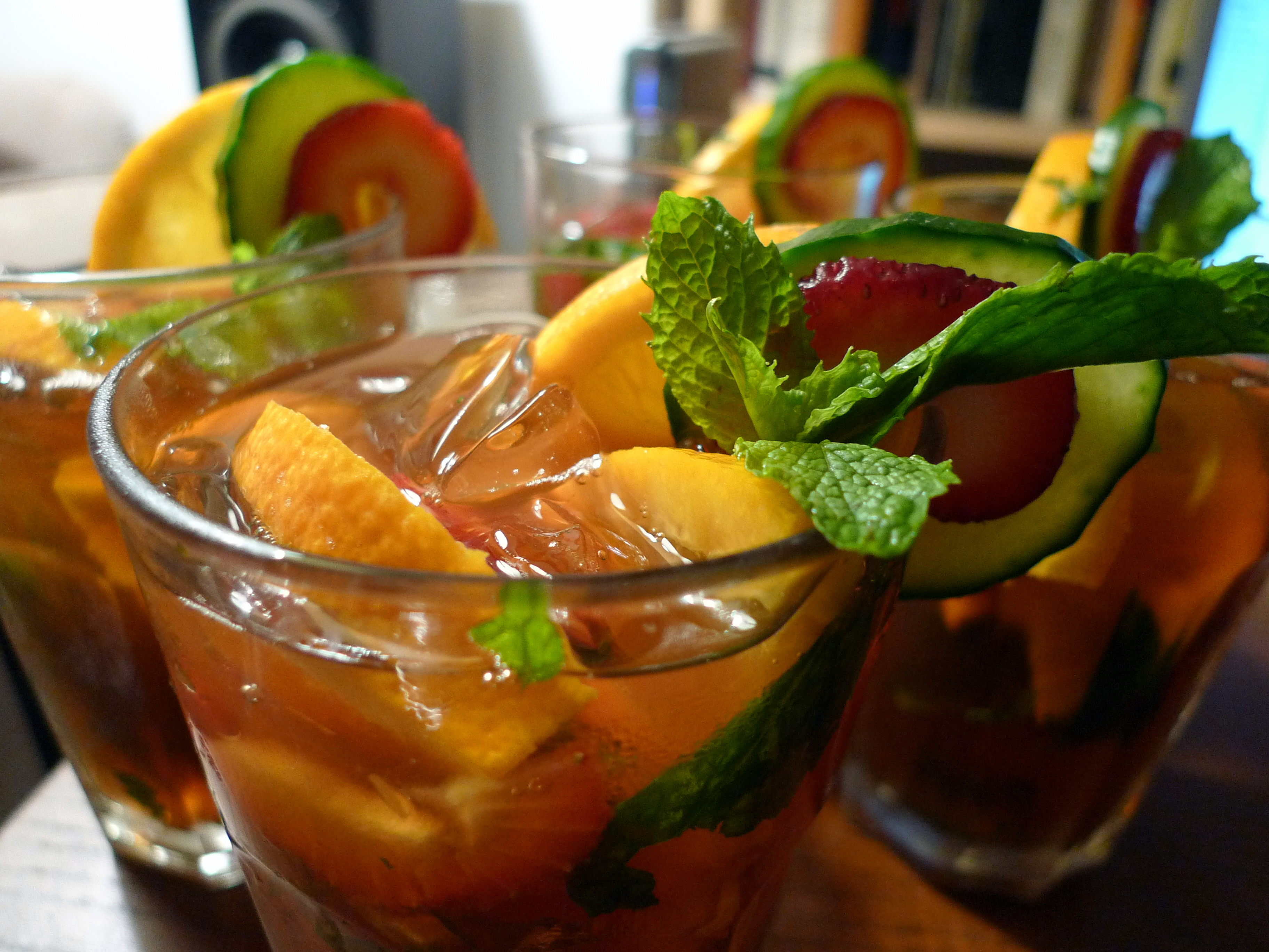 Pimm s cup food comas for What to mix with pimms