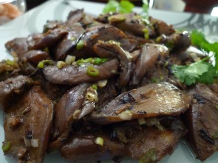 Eggplant Szechuan Style