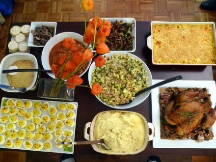 our 3rd annual Thanksgiving Eve dinner