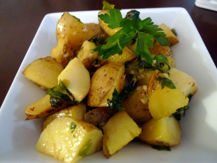 Garlic Parlsey Potatoes