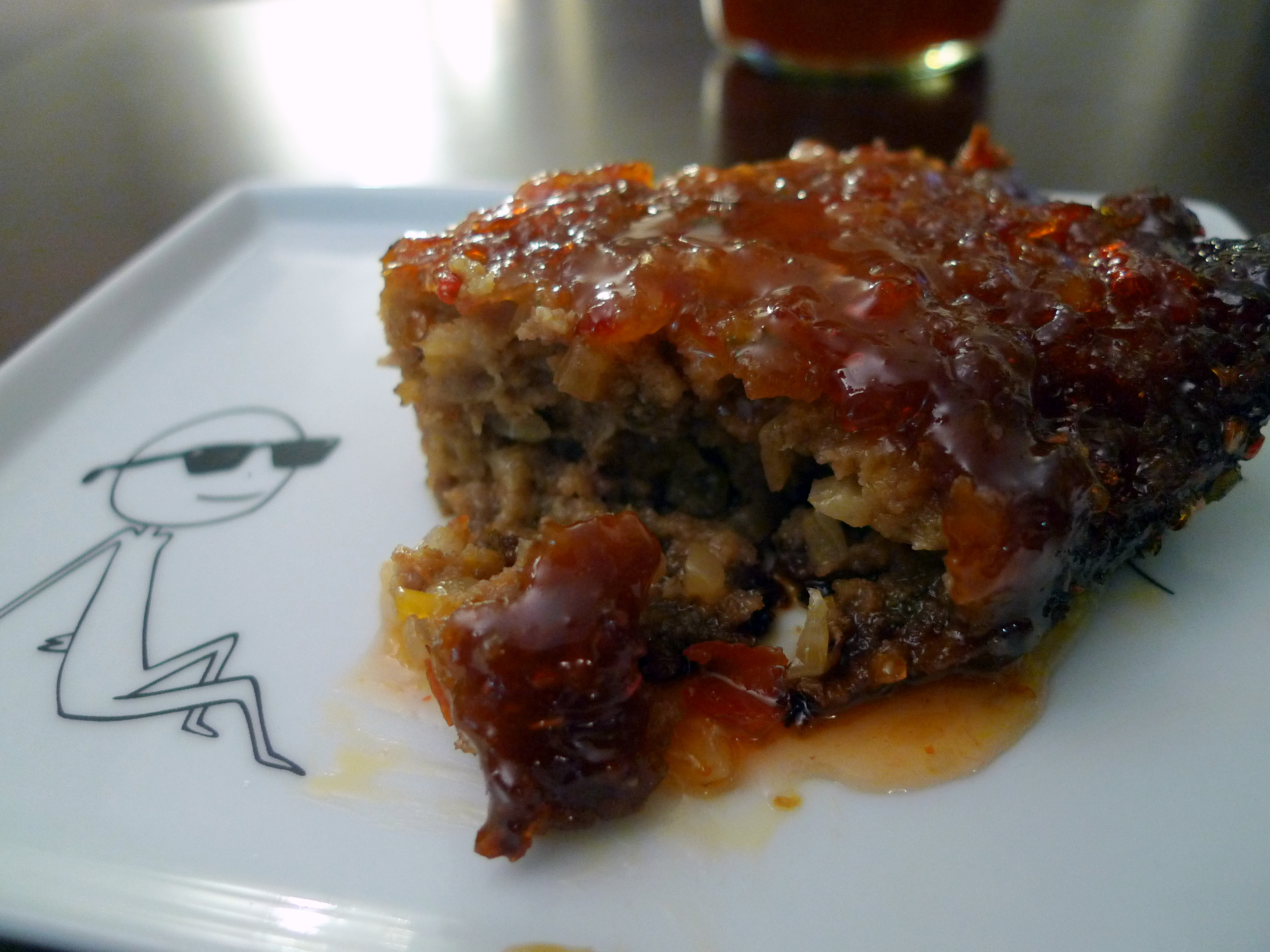 Sweet Chili Glazed Meatloaf | food comas