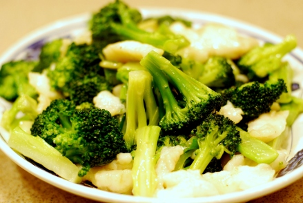 Fish Fillet with Broccoli Stir Fry
