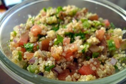 Quinoa Salad Tabbouleh-Style
