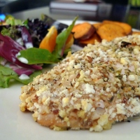 Almond and Pecan Crusted Chicken