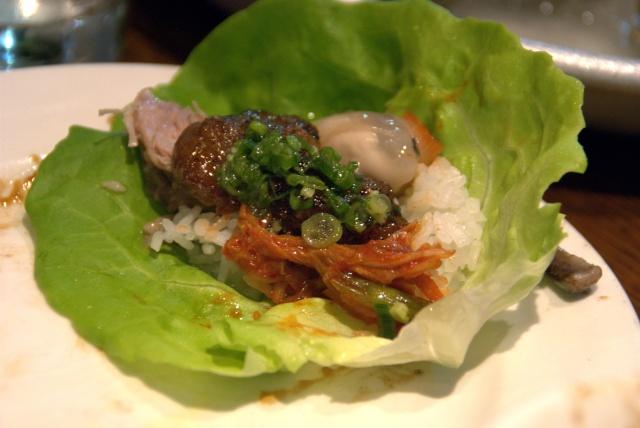 bo ssam lettuce wraps