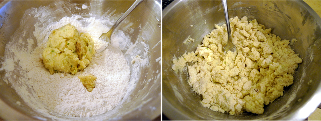 mashed potato dough