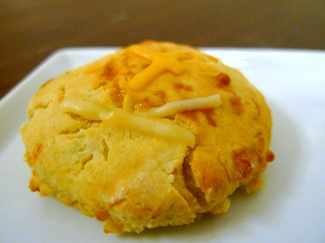 Mashed Potato Cheddar Biscuits