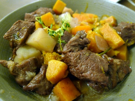 Lamb Winter Vegetable Stew