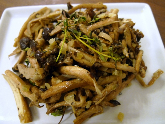 Sautéed Wild Mushrooms with Herbs