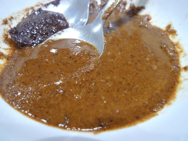 kerisik - coconut paste