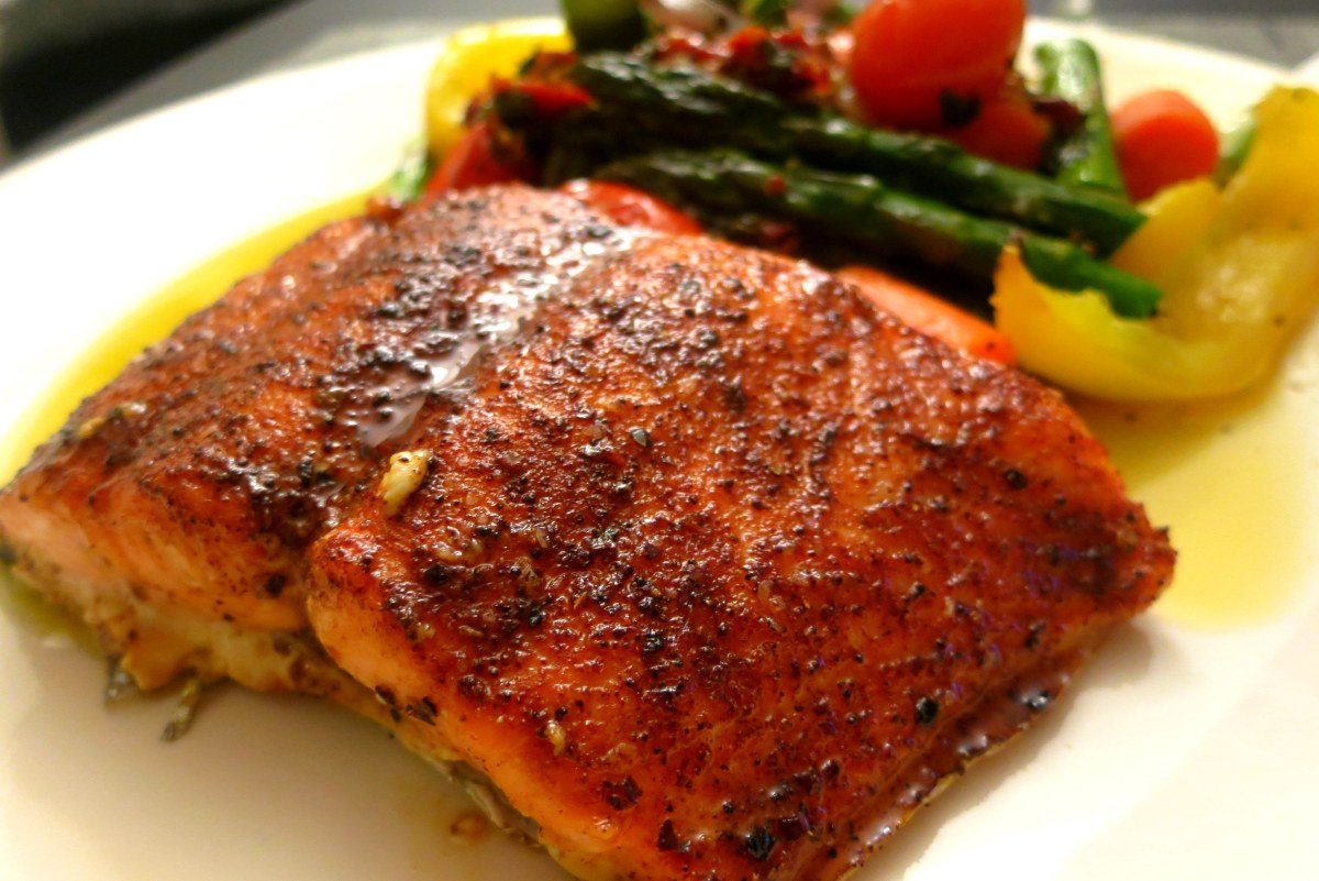 Maple-Glazed Salmon | food comas