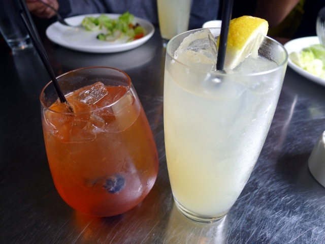 spring's pimms cup & ad hoc lemonade