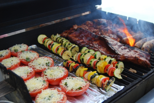 perfect summer grill combination