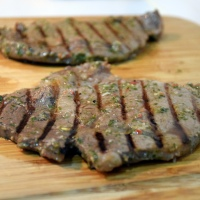 Chimichurri Marinated Steak