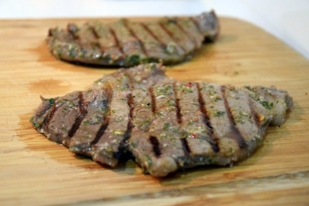 Chimichurri-Marinated Steak