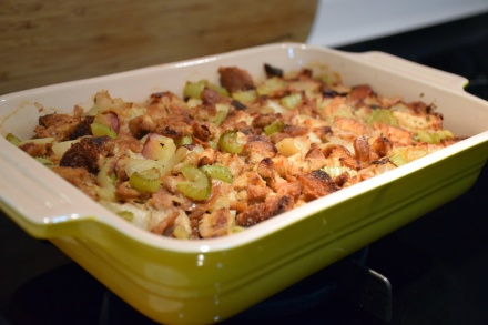Classic Chicken Sausage and Apple Stuffing