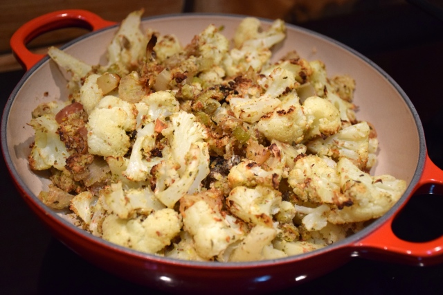 Cauliflower and Hazelnut Stuffing