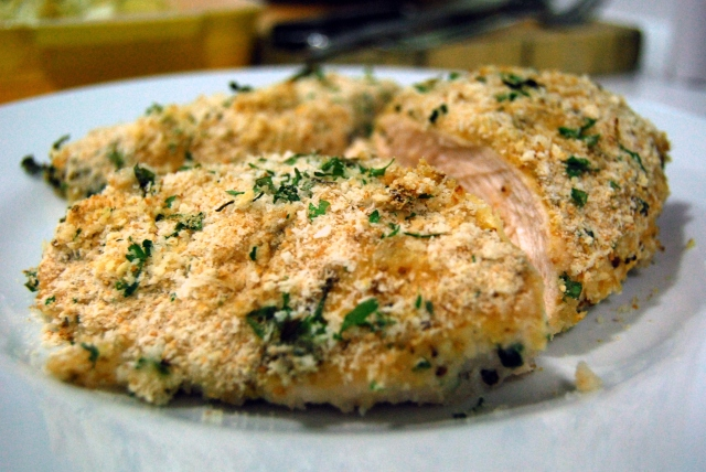 Herb Crumbed Chicken Breasts