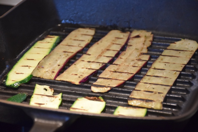 grill the slices until tender