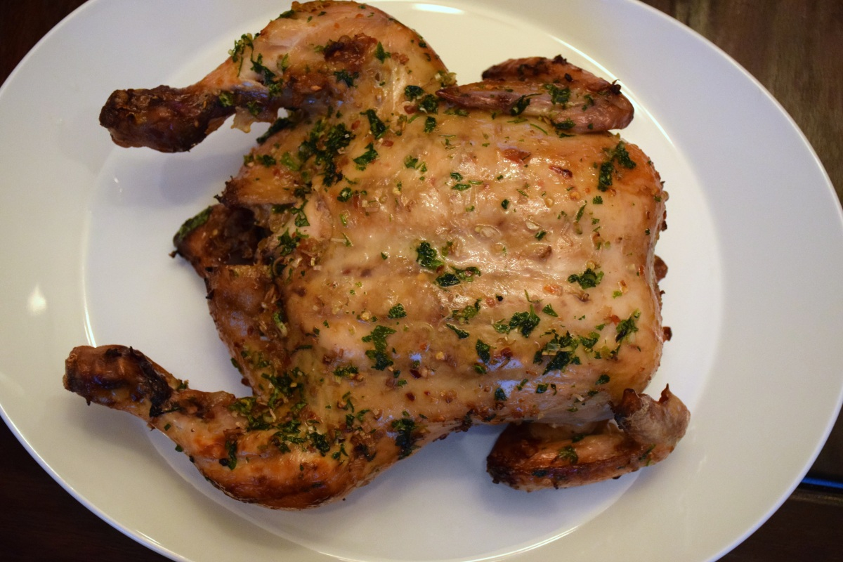 Thai Lemongrass Roast Chicken