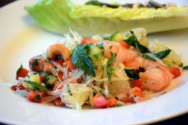 Pomelo Shrimp Salad
