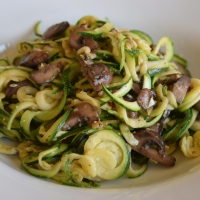 Zucchini Spaghetti Aglio e Olio